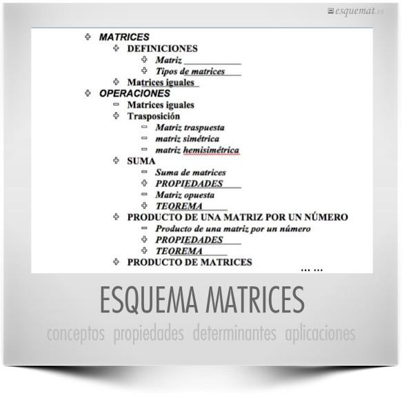 ESQUEMA  MATRICES