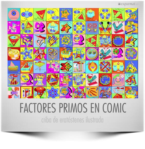 FACTORES PRIMOS EN COMIC