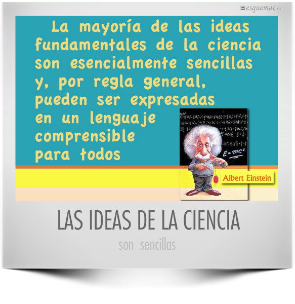 LAS IDEAS DE LA CIENCIA
