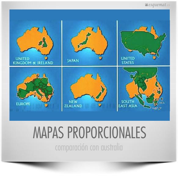 MAPAS PROPORCIONALES