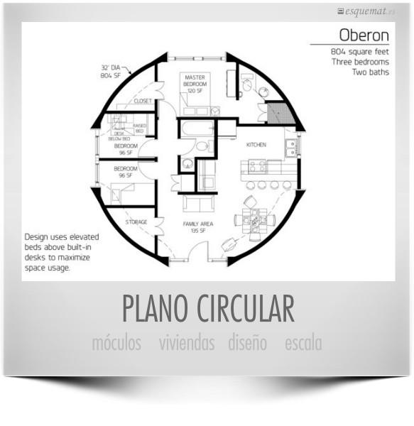 PLANO CIRCULAR