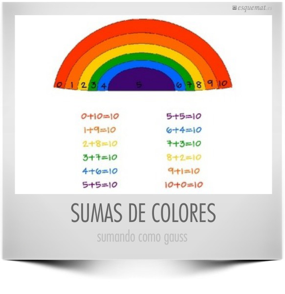 SUMAS DE COLORES